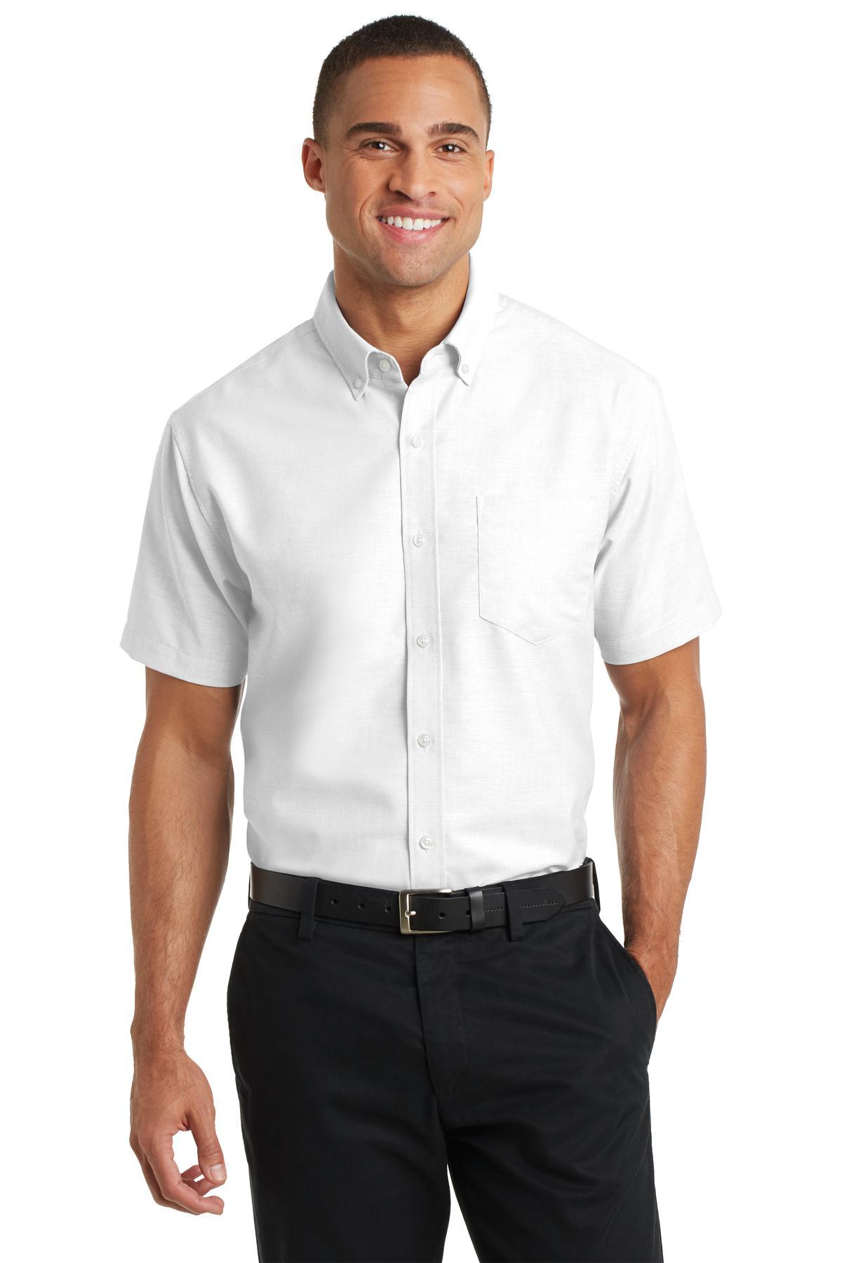 Port Authority® S659 - Short Sleeve SuperPro Oxford Shirt