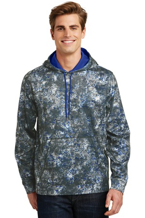 Sport-Tek ST230 - Sport-Wick Mineral Freeze Fleece Hooded Pullover