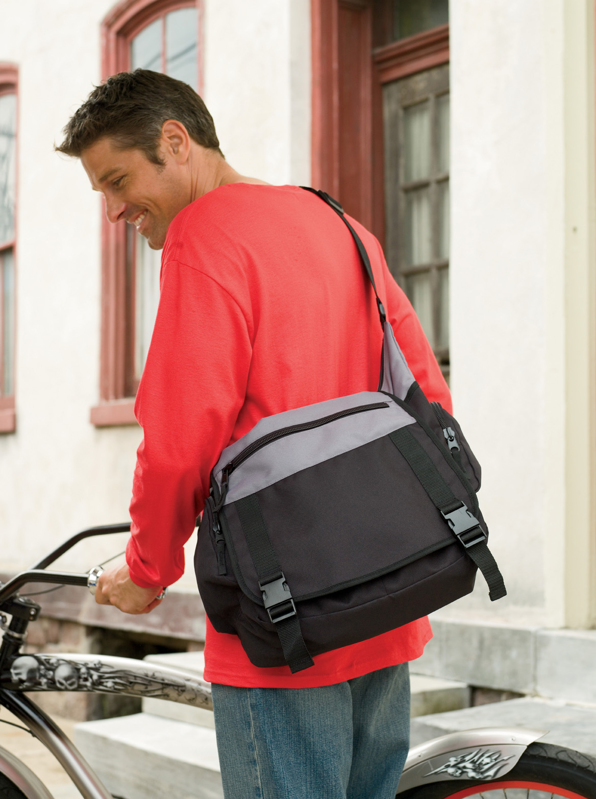 BAGedge BE023  Bike Messenger Bag