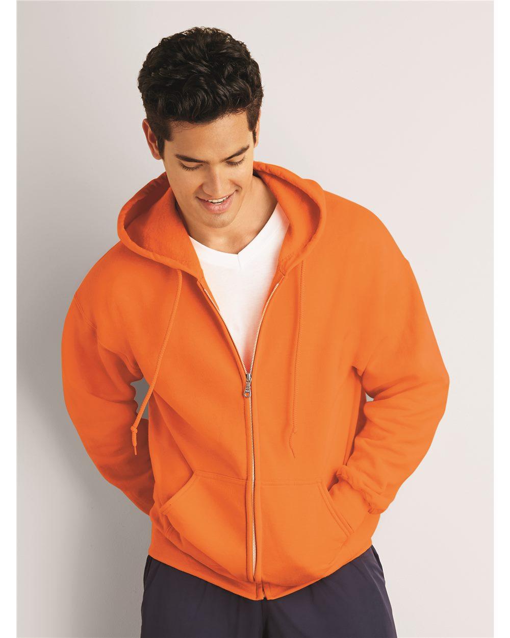 Gildan 吉尔丹 12600 Ultra混合布料全拉链连帽衫卫衣
