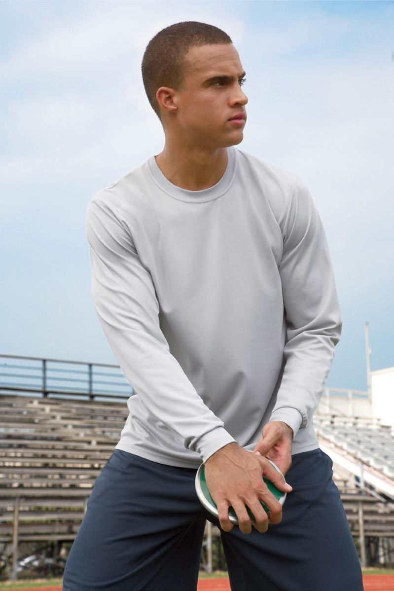 Augusta Sportswear 788 男士长袖运动T恤