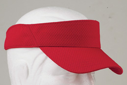 Big Accessories BX022  Mesh Sport Visor