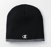 Champion C6183  Striped Knit Beanie
