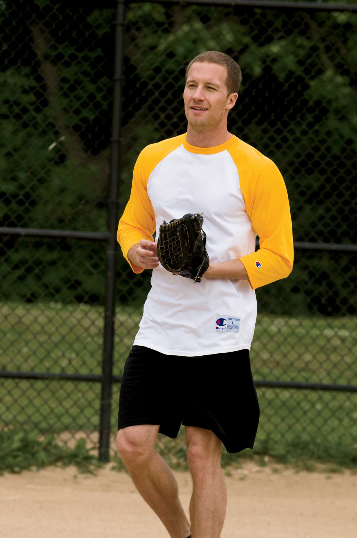 Champion T1397  Tagless Raglan Baseball Jersey