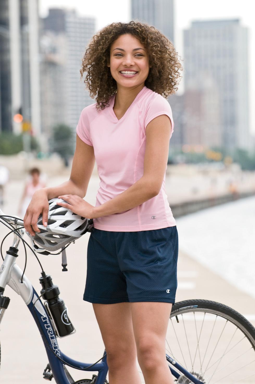 Champion 3393 Women's Active Mesh Short $9.40 - Women's Shorts