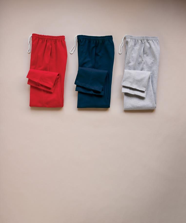 Gildan 吉尔丹 12300 Ultra混合布料开口裤脚带口袋宽松运动裤