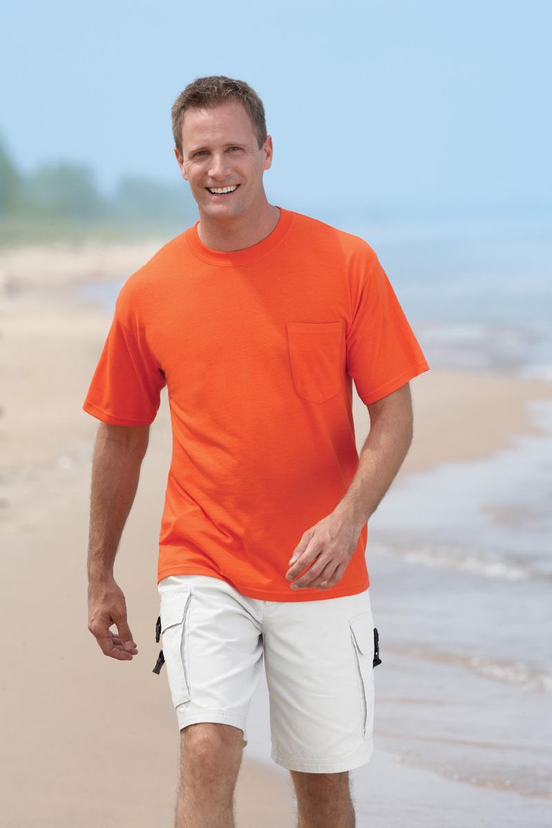 Gildan 8300  Ultra Blend 50/50 T-Shirt with a Pocket