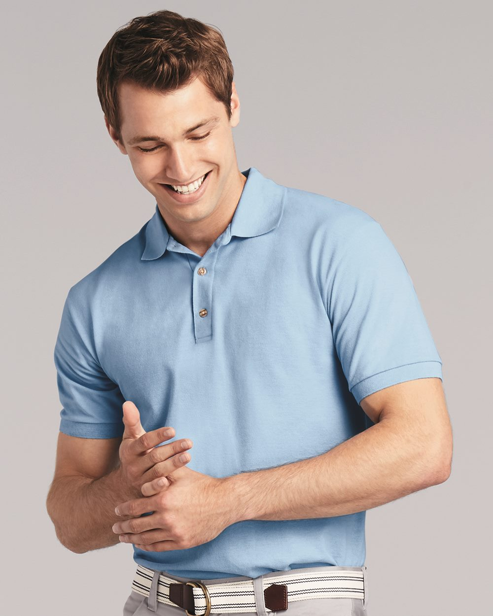 Gildan 3800 Ultra Cotton Ringspun Pique Sport Shir