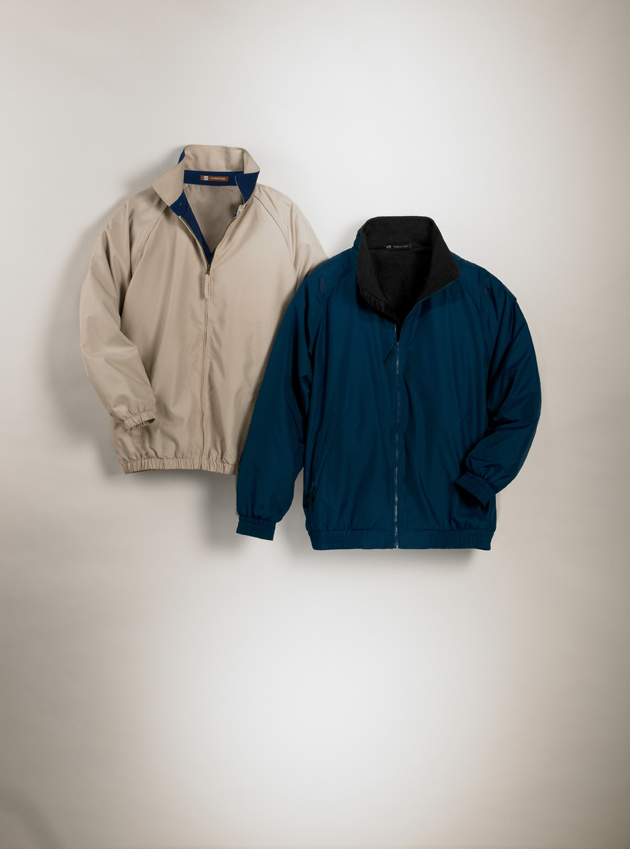 Harriton M740  Fleece-Lined Nylon Jacket