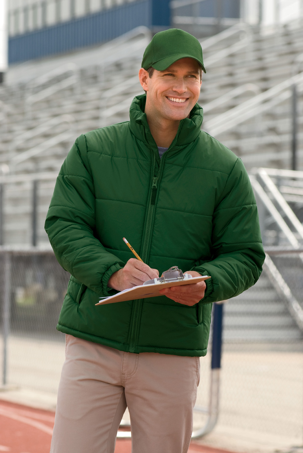 Harriton M790  Stadium Jacket