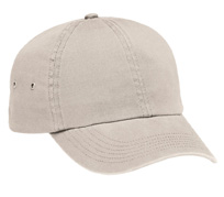 Harriton M845  Washed Twill Baseball Cap