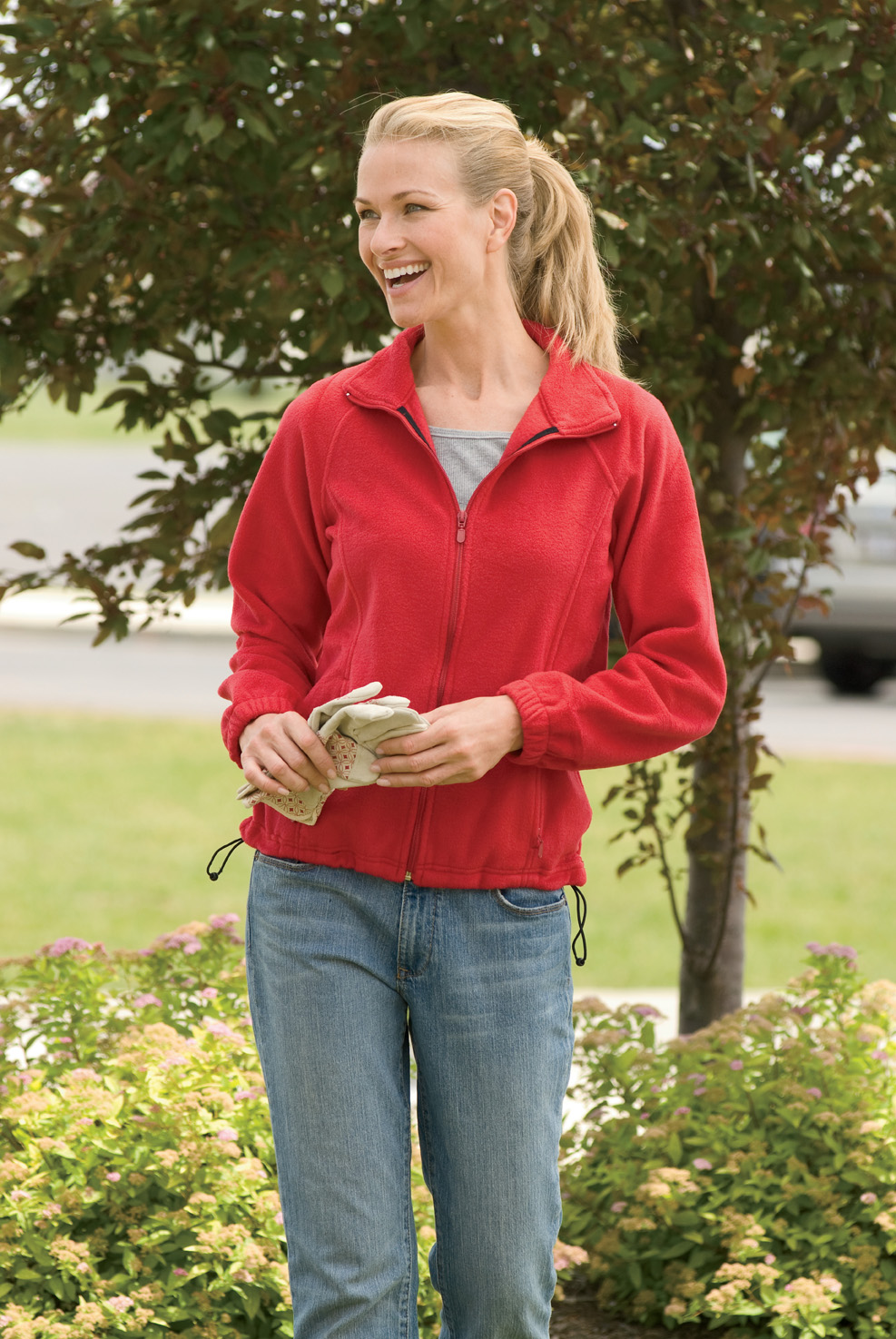 Timberland Women Full Zip Fleece Jacket - from $13.18
