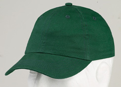 Harriton M835Y  Youth 6-Panel Unstructured Brushed Twill ...