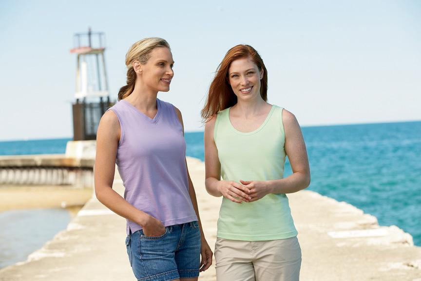 L.A.T Sportswear - Ladies' Sleeveless T-Shirt - 3584