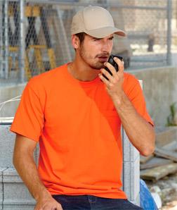 3015 成年人全棉短袖舒适带口袋T恤