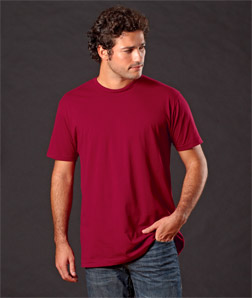 3600 Next Level Men's Fitted Short-Sleeve