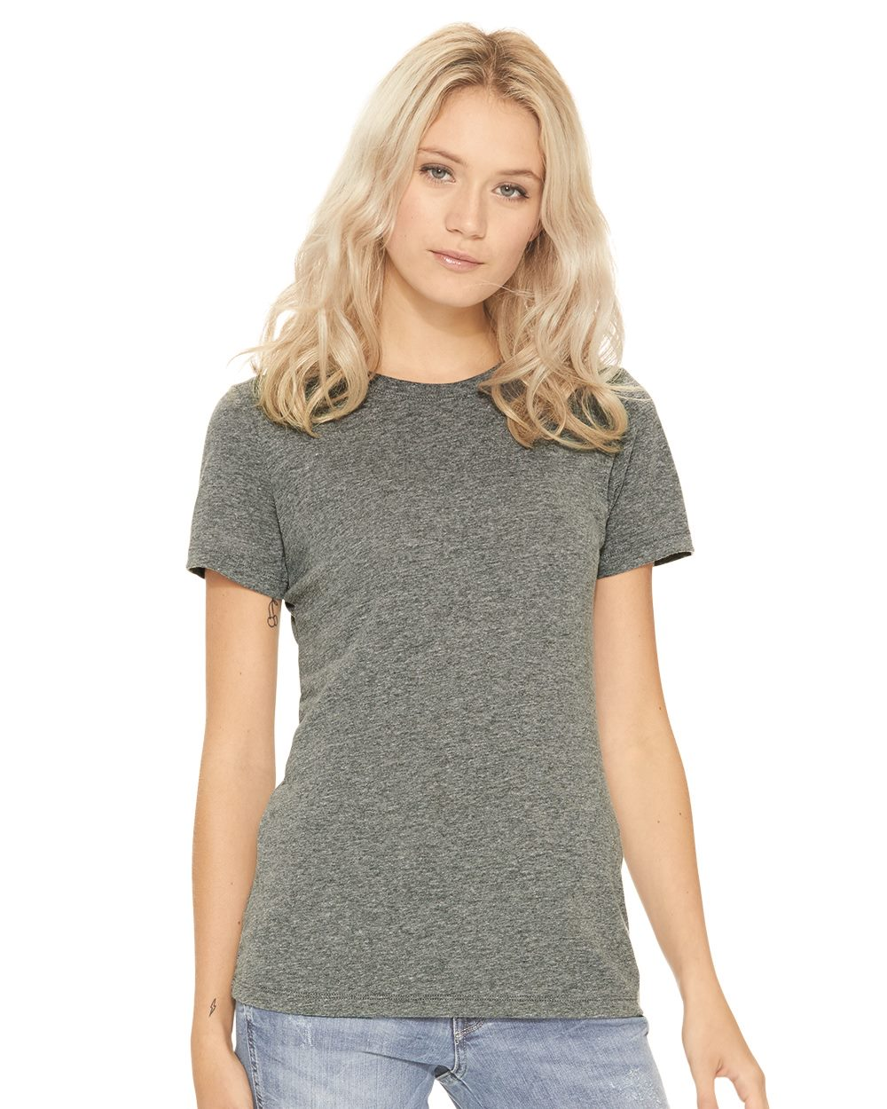 Next Level 6710 - Women's Tri-Blend Short Sleeve Crew