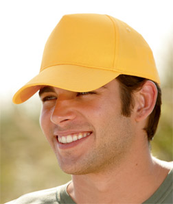 8120 UltraClub Classic Cut Cotton Twill Cap