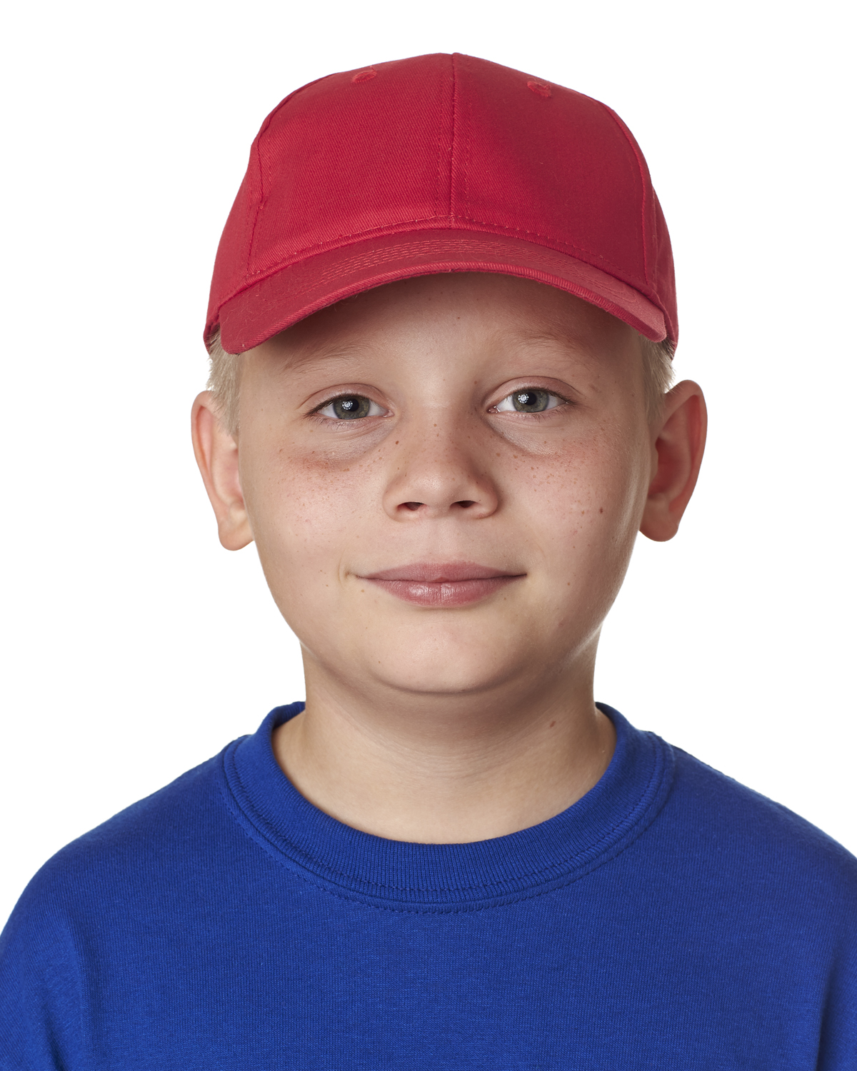 8122 UltraClub Youth Classic Cut Cotton Twill Cap