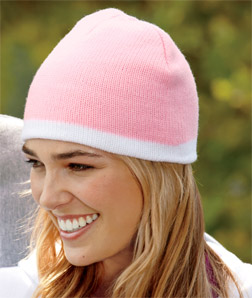 8132 UltraClub Two-Tone Knit Beanie