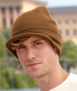 8133 UltraClub Knit Beanie with Lid
