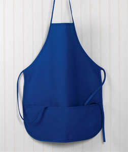 8201 UltraClub Large Two-Pocket Bib Apron