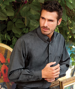 8340 UltraClub Men's Wrinkle-Free End-on-End Shirt