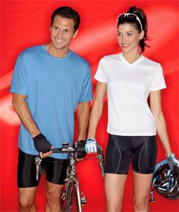 8400L UltraClub Ladies Cool & Dry Sport V-Neck Tee