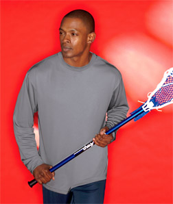 8401 UltraClub Adult Cool & Dry Sport Long-Sleeve Tee