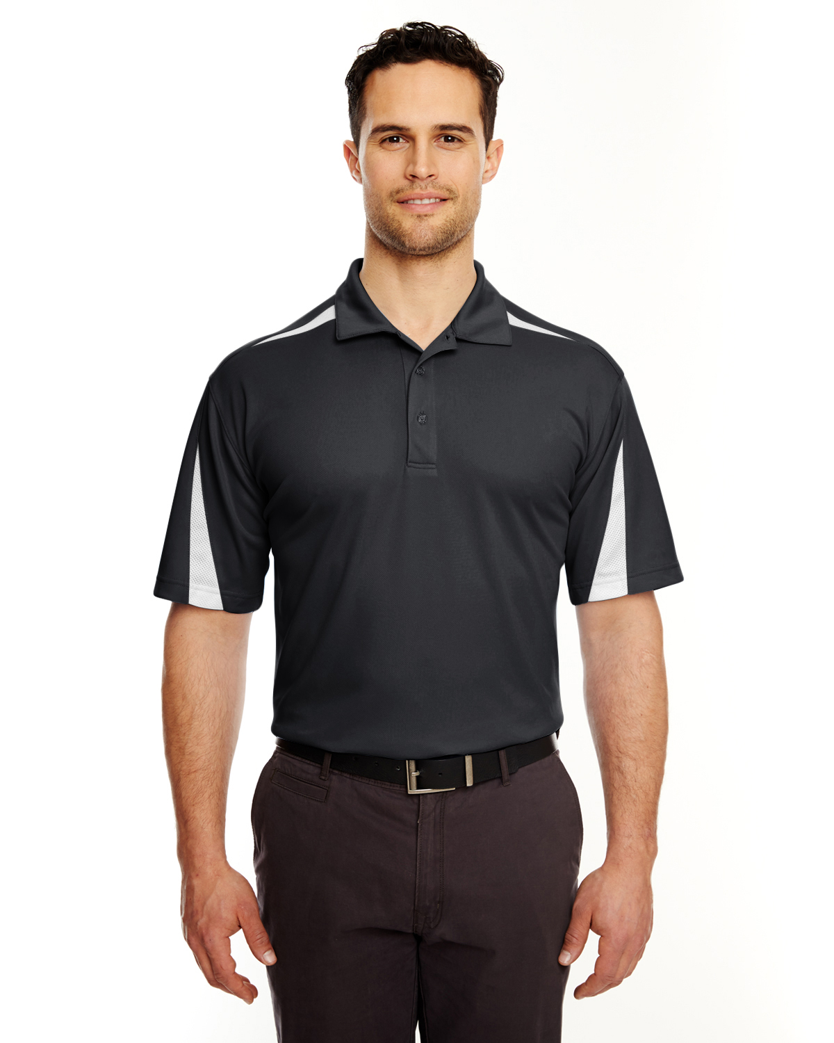 8408 UltraClub Adult Cool & Dry Sport Polo