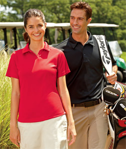 8411 UltraClub Ladies' Cool & Dry Elite Interlock Performance Polo