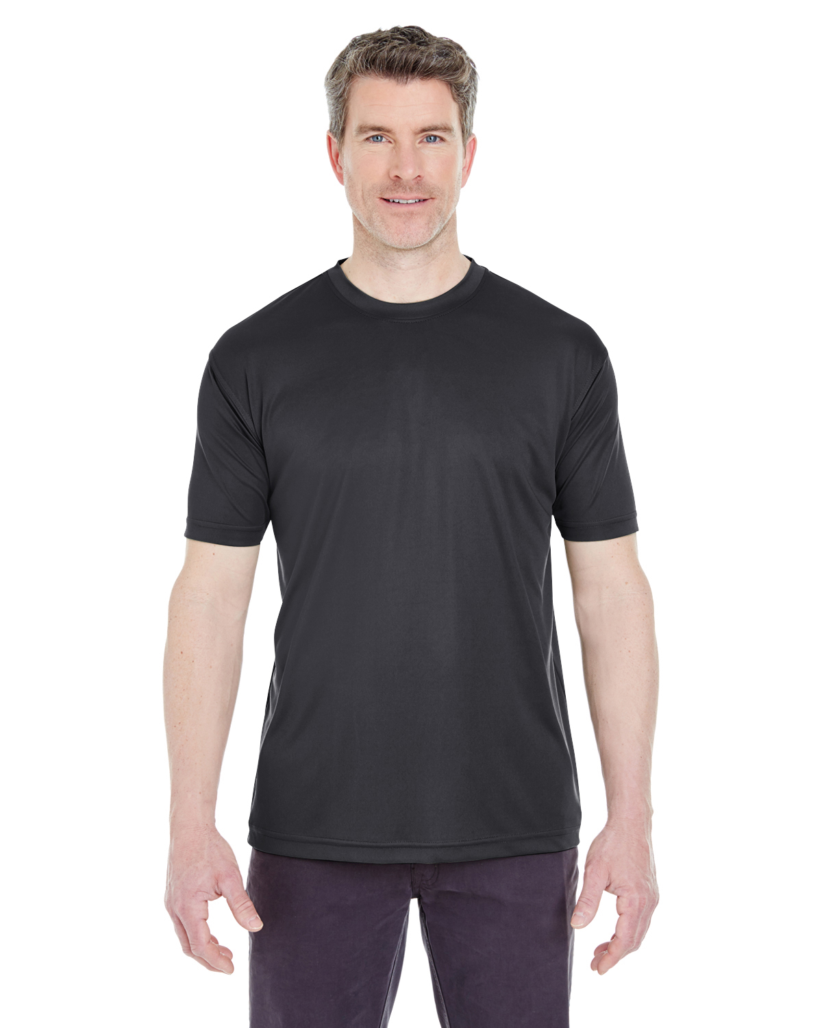 8420 UltraClub Adult Cool & Dry Sport Performance Interlock Tee