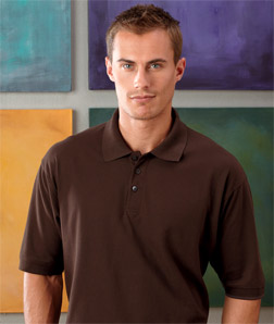 8540T UltraClub Men's Tall Whisper Pique Polo
