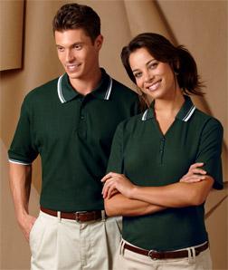 8545 UltraClub Men's Short-Sleeve Whisper Pique Polo ...