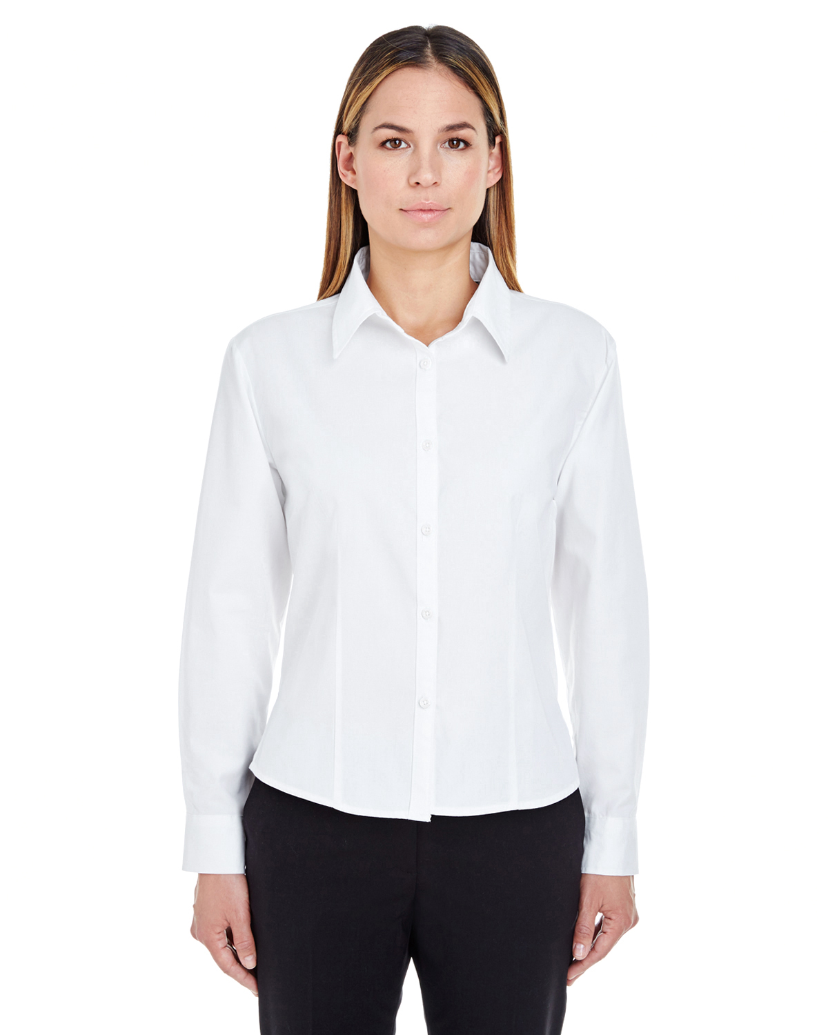 8976 UltraClub Ladies' Whisper Twill Shirt