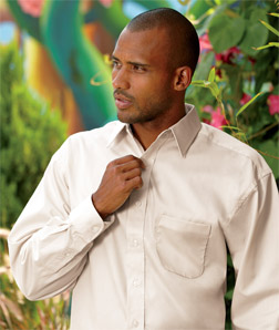 8991 UltraClub Men's Whisper Elite Twill Shirt