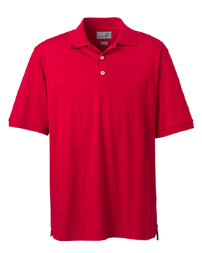 Ashworth 2013 Men's EZ-Tech Jersey Textured Stripe Polo