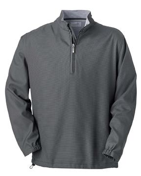 Ashworth 5330 Men's Houndstooth Half-Zip Jacket