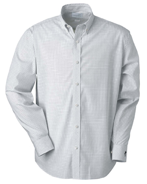 Ashworth 7095C Men's EZ-Tech Check Pattern Woven