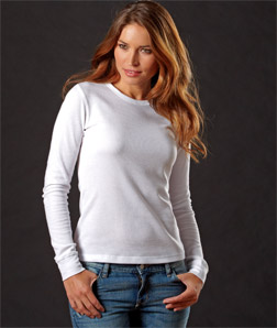 N8001 Next Level Ladies' Soft Long-Sleeve Thermal