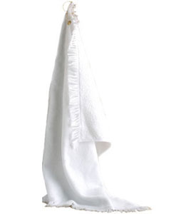 Anvil T64G  Fringed Hand Towel with Grommet