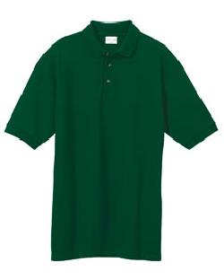 Anvil 6002 环锭纺纱棉单珠地(布)polo衫