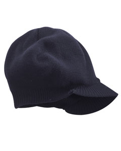 Big Accessories BX012  Knit Cap with Bill