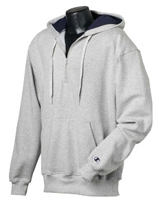 complimentary shipping double coupon outlet on sale Champion S185 Cotton Max Quarter-Zip Hoodie