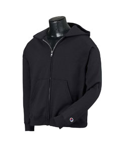 Champion CW25  Youth 9 oz., 50/50 Full-Zip Hooded Fleece