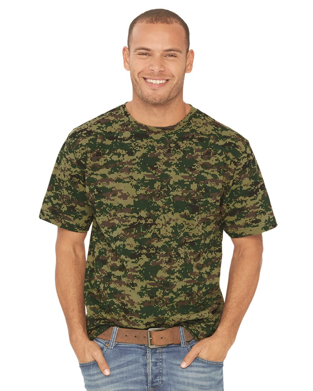 Code V LS Camouflage T-Shirt -3906