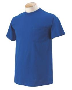 Fruit of the Loom 3930P  5.6 oz. Pocket T-Shirt