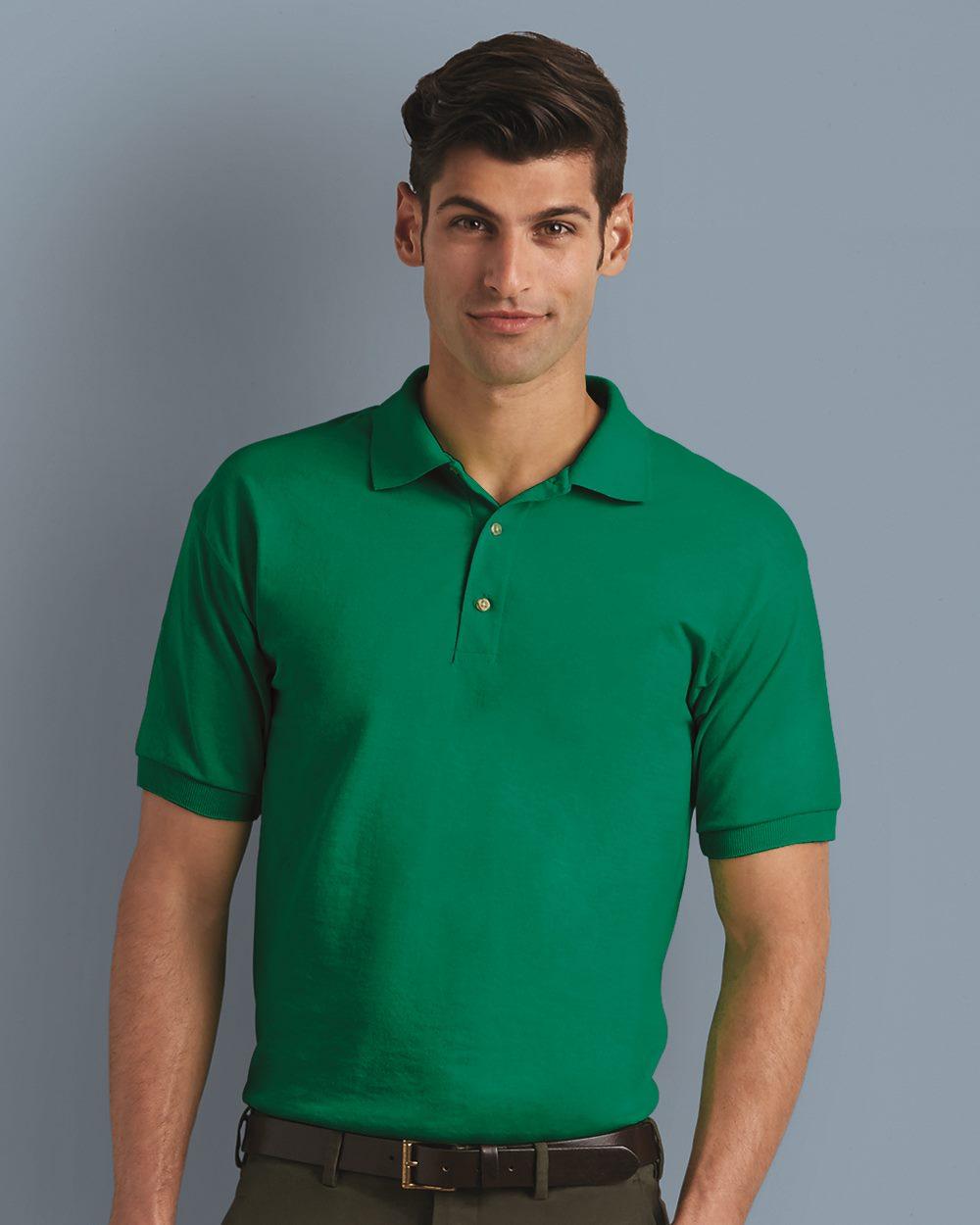 Gildan 8800  5.6 oz. Ultra Blend Jersey Sport Shirt