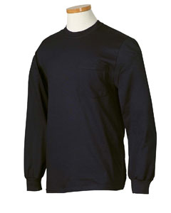 Jerzees 29LP  Heavyweight Blend Long-Sleeve Pocket T-Shirt