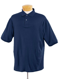Jerzees 437M  Men's 5.6 oz., 50/50 Jersey Polo with SpotShield